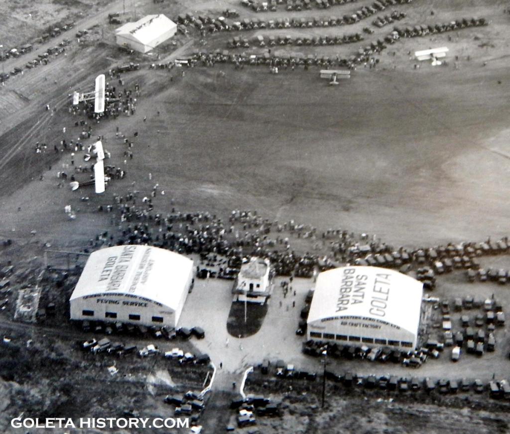 first hangars