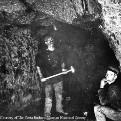 Goleta Asphalt Mine
