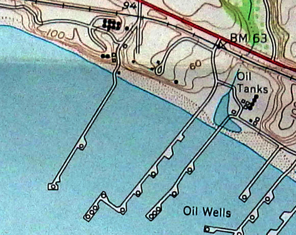 haskell pier map 1951