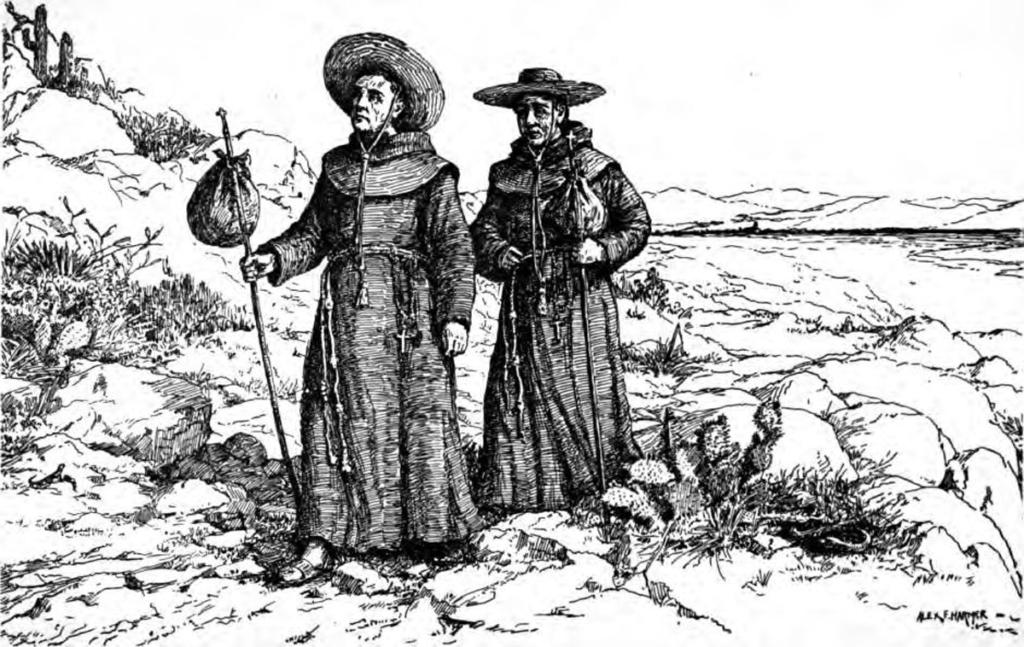 Franciscan_missionaries_in_California