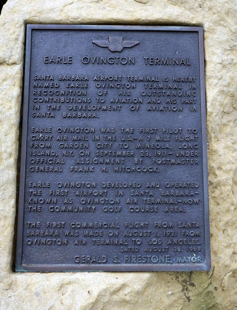 Ovington terminal plaque